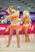 Khimki Dancers cheerleaders — Stock Photo