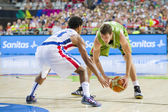 Goran Dragic of Slovenia — Stock Photo