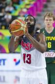 James Harden of USA — Stock Photo