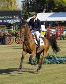 Horse jumping - Cassio Rivetti — Stockfoto