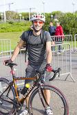 Triathlete Sergio Costa — Stock Photo