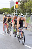 Triathlon - Javier Gomez Noya — Stock Photo