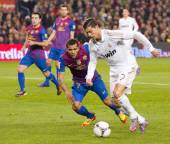 Cristiano Ronaldo - Barcelona vs Real Madrid — Foto de Stock