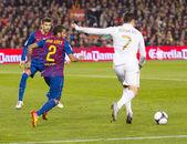Cristiano Ronaldo - Barcelona vs Real Madrid — Zdjęcie stockowe