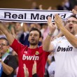 Real Madrid supporters — Stock Photo #56937343