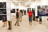 Photography Exhibition — Stock Photo