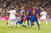 FC Barcelona vs Real Madrid — Stock Photo