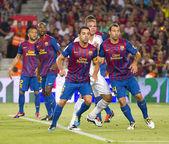 Football match — Stock Photo