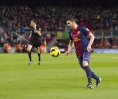 David Villa football player — Stock Photo