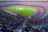 Camp Nou stadium — Stock Photo