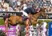 Hästhoppning — Stockfoto
