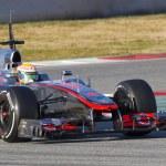 Постер, плакат: Lewis Hamilton McLaren