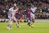 Lionel Messi FCB — Foto de Stock
