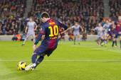 Lionel Messi FCB — Stock Photo