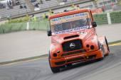 Wyścigi ciężarówek — Zdjęcie stockowe