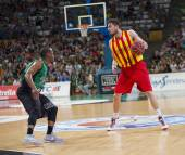 Basketball match — Stock Photo