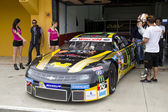Roberto Benedetti at Race of Whelen Nascar Euro Series — 图库照片