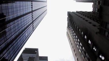 Nyc cityscape skyline — Stock Video