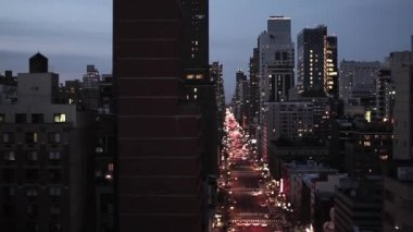 Skyline of new york city. — Stock Video