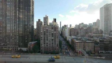 Traffico di New york city — Video Stock