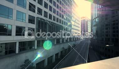 Modern office buildings — Stock Video