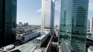 City skyline. — Stock Video
