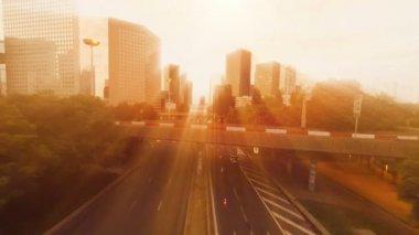 City cityscape. — Stock Video