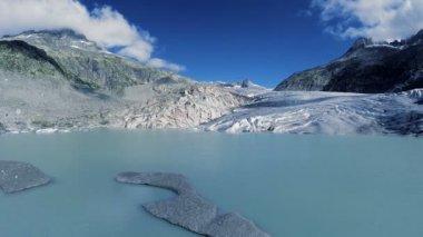 Melting glacier ice — Stock Video