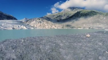 Melting glacier ice — 图库视频影像