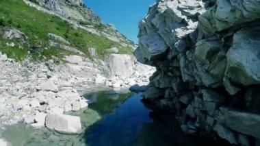 Canyon landscape — Stock Video
