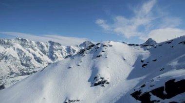 Mountain panorama — Stock Video