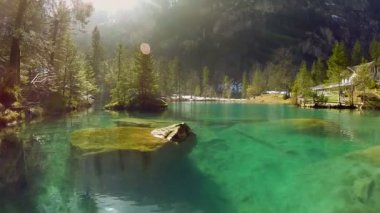 Lake resort. — Stock Video