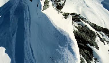 Mountain peak. — Stock Video