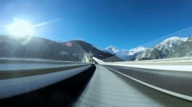 Long road — Stock Video