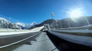 Long road. — Stock Video