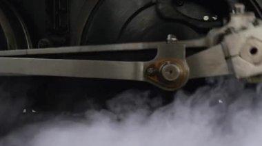 Steam engine. — Stock Video