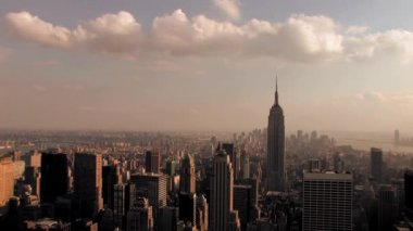 New york city skyline — Stockvideo