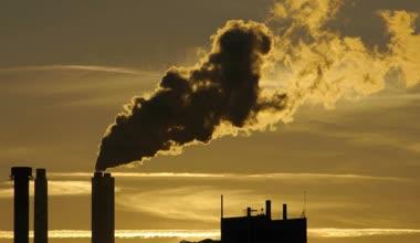 Pollution smoke cloud — Stock Video
