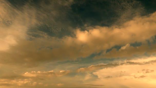 Sky cloudscape background — Vídeo de stock