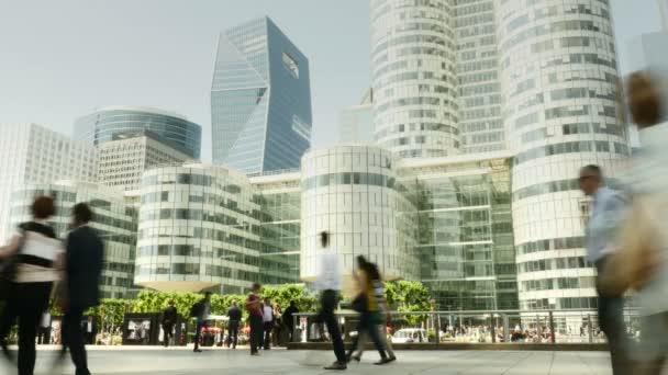Luxury city district — Vidéo