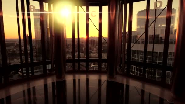 Inside modern building — Vidéo