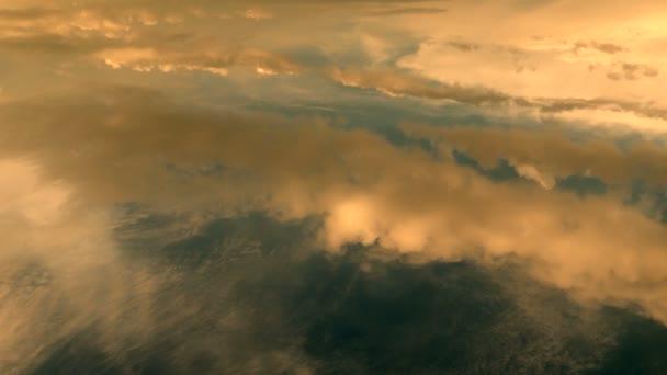 In flight view from plane — Vidéo