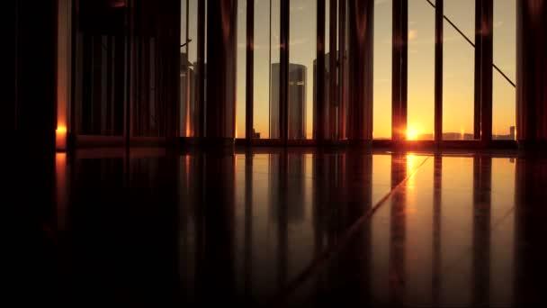 Modern luxury office building — Vidéo