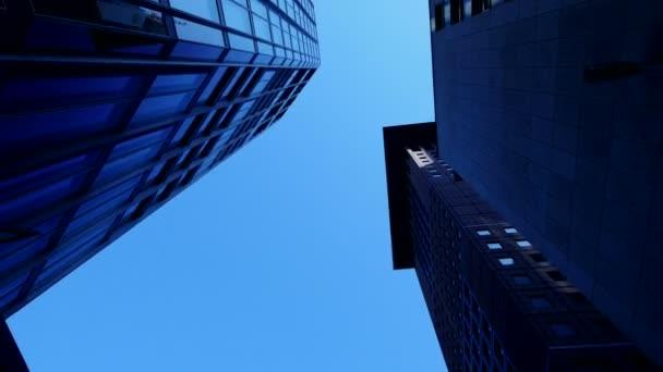 Edificios de arquitectura moderna — Vídeo de stock