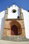 Silves Cathedral in the Algarve, Portugal — Stock Photo