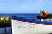 Fishing boat in Armacao De Pera, Portugal — Stock Photo