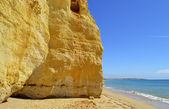 Vale Do Olival Beach on the Algarve in Portugal — Стоковое фото