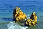 Ponta Da Piedade skalne formacji — Zdjęcie stockowe