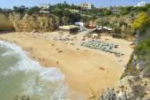 Senhora Da Rocha Beach in Portugal — Stock Photo