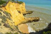 Cova Redonda Beach, Armacao De Pera, Algarve, Portugal — Stock Photo